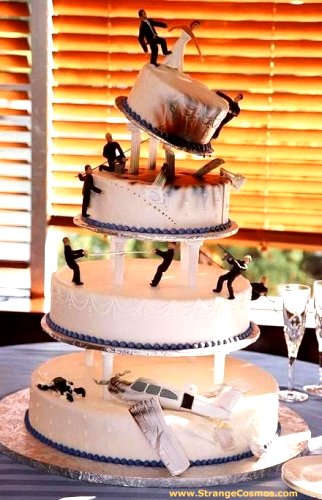 funny wedding cakes pictures unique wedding cake ideas hudson valley ceremonies 14582