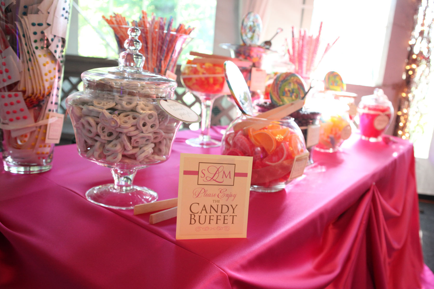 Wedding Candy Buffet – Hudson Valley Ceremonies