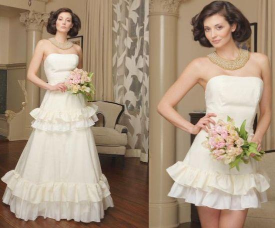 tear away wedding dress | Wedding