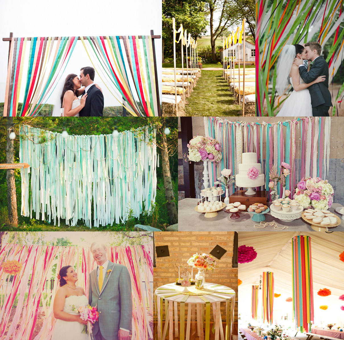 Top trends for the upcoming 2013 wedding season hudson for Marriage decoration designs