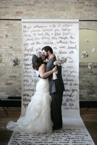 written-paper-scroll-wedding-ceremony