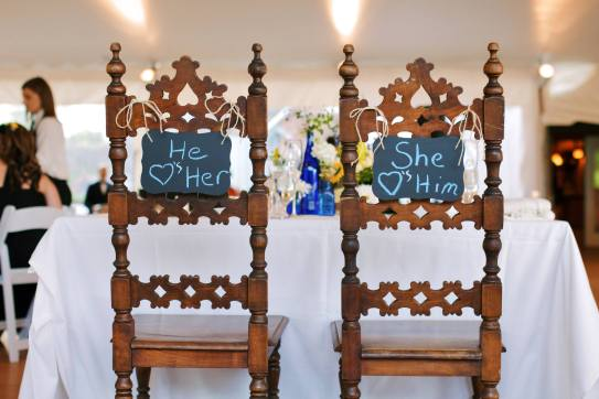 King and Queen Chairs