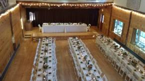Ashokan Center Wedding Reception