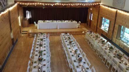 Ashokan Center Wedding Reception