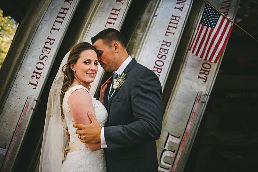 Sarah and Travis, Sunny Hill Resort in theCatskills