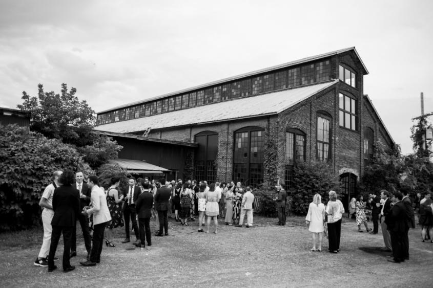 Elizabeth And Garrett Basilica Hudson Hudson Valley Ceremonies