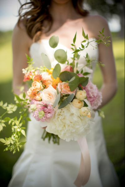 Stunning bridal bouquet